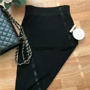 Halogen Pencil Skirt w Side Slit